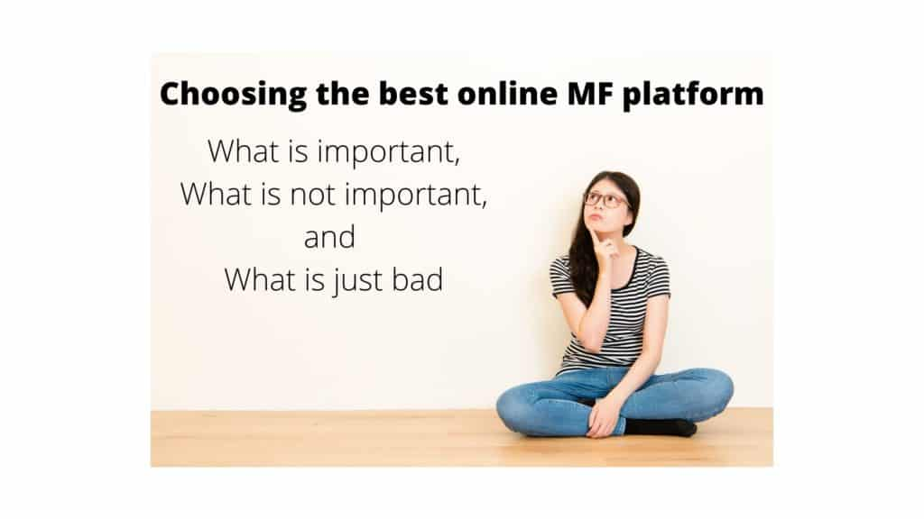 best online mutual fund platform