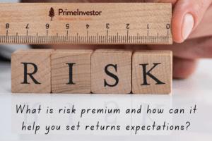 risk premium, risk