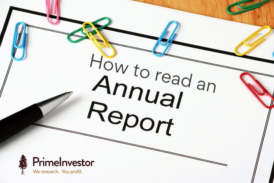 Annual Report, how to read an annual report