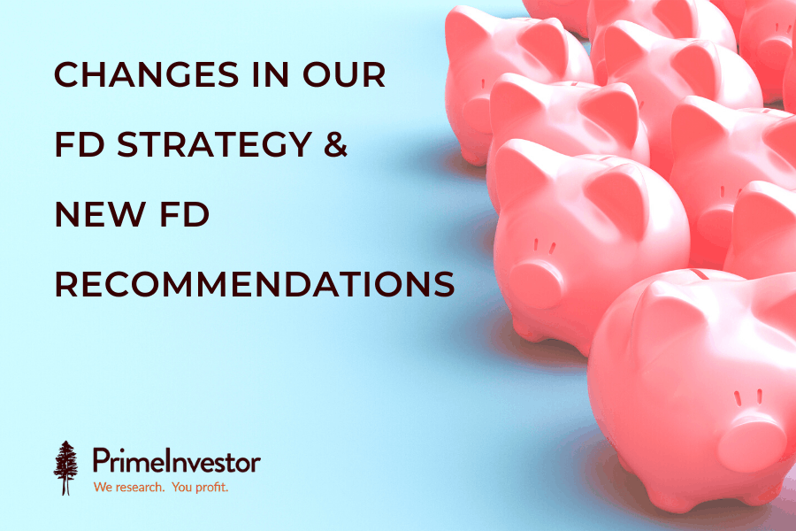 Changes in our FD strategy and new FD recommendations